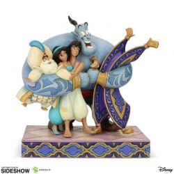 Aladdin Group Hug Enesco Disney (Aladdin)