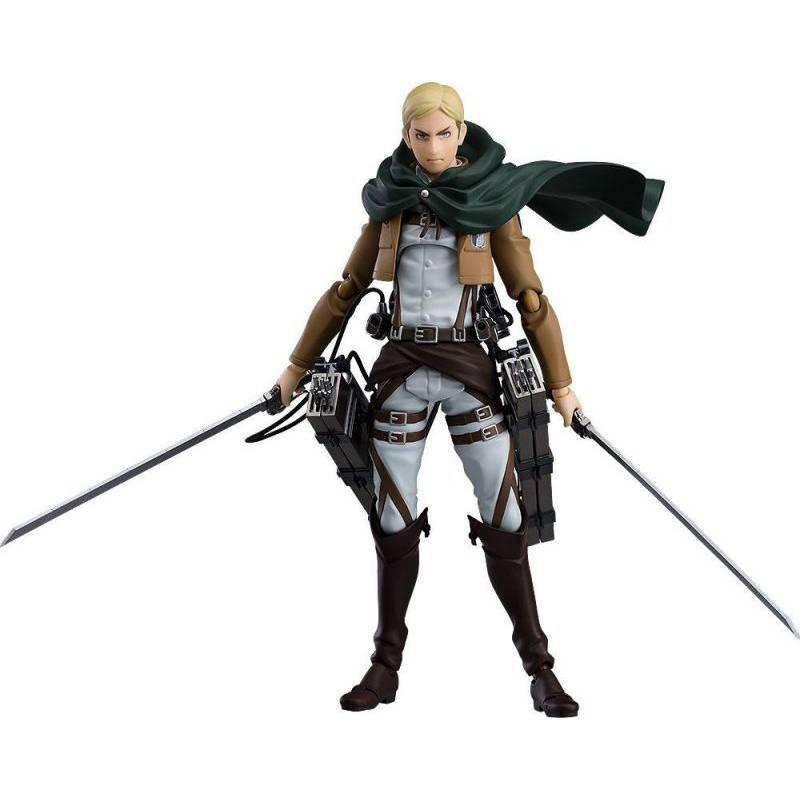 Erwin Smith Figma figurine (L'Attaque des Titans)
