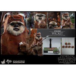 Wicket Hot Toys MMS550 1/6 (Star Wars VI : Le Retour du Jedi)