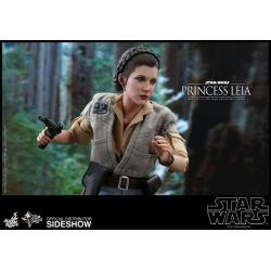 Princesse Leia Endor Hot Toys MMS549 1/6 (Star Wars VI : Le Retour du Jedi)