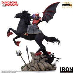 Venger with Nightmare et Shadow Demon Deluxe BDS Art Scale Iron Studios (Donjons et Dragons)