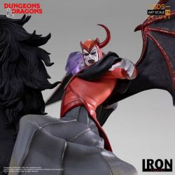 Venger with Nightmare and Shadow Demon Deluxe BDS Art Scale Iron Studios (Dungeons and Dragons)