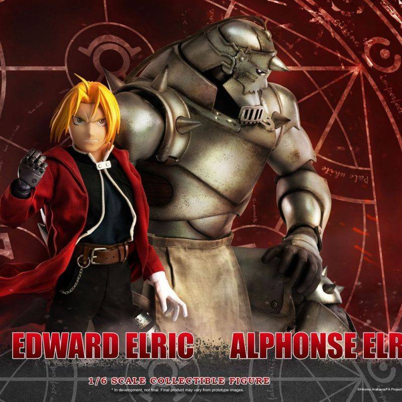 Alphonse et Edward Elric 1/6 (Fullmetal Alchemist Brotherhood)