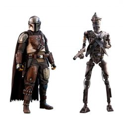 The Mandalorian and IG-11 Hot Toys (The Mandalorian)