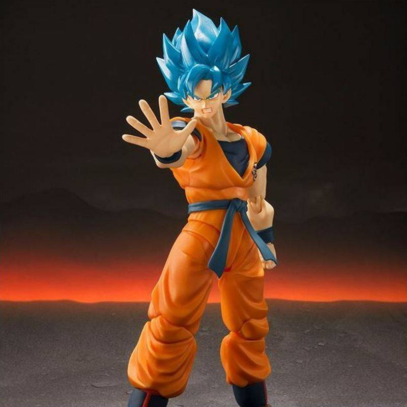 Super Saiyan God SS Son Goku Bleu SH Figuarts (Dragon Ball Super : Broly)