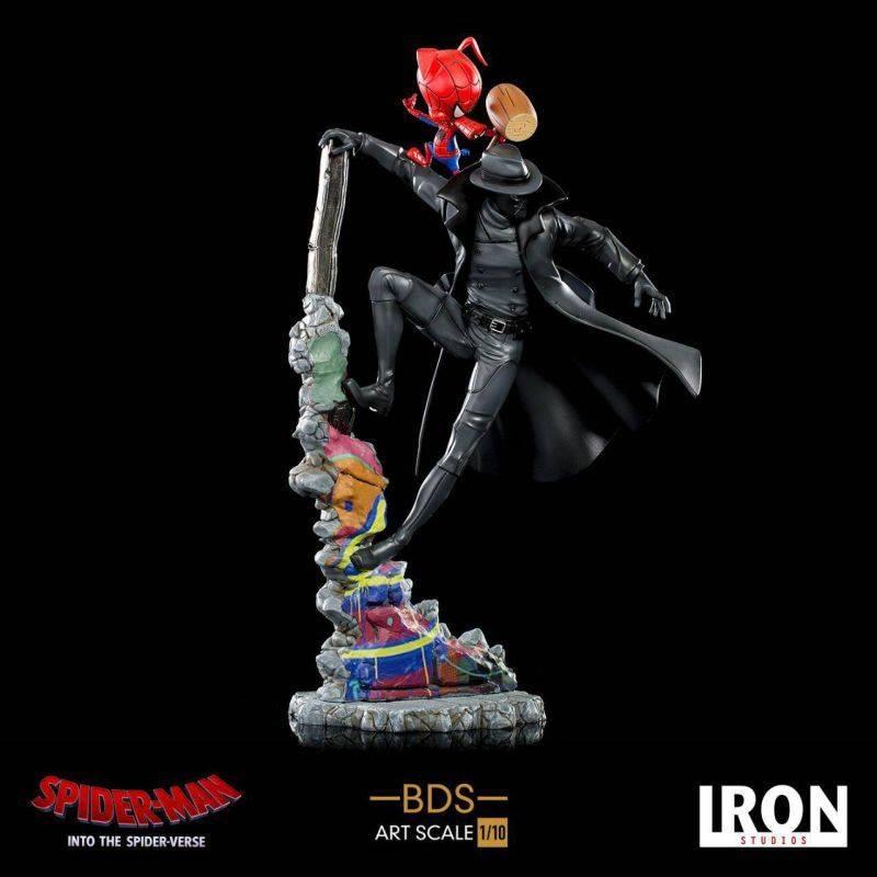 Noir et Spider-Ham BDS Art Scale 1/10 (Spider-Man New Generation)
