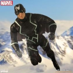 Black Bolt and Lockjaw One:12 Mezco (Inhumans - Marvel)