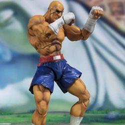 Sagat SH Figuarts Tamashii Web Exclusive (Street Fighter) - emballage avec défaut