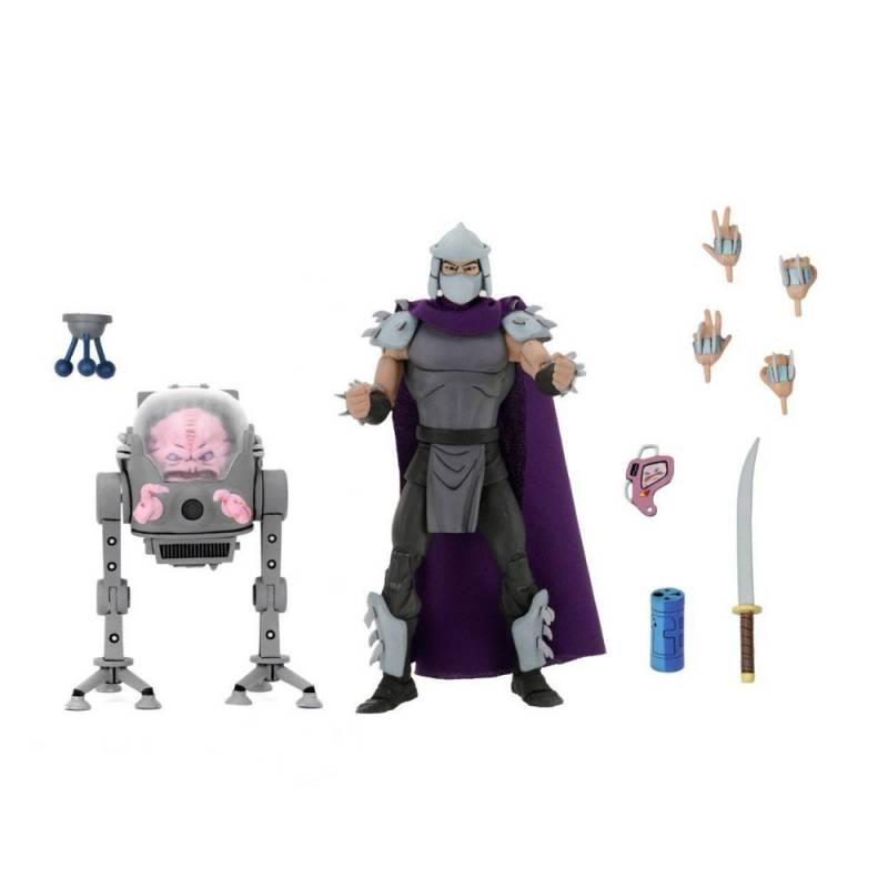 Shredder vs Krang Bubble Walker Neca (Les Tortues Ninja)