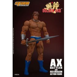 Ax Battler and Red Dragon Storm Collectibles (Golden Axe)