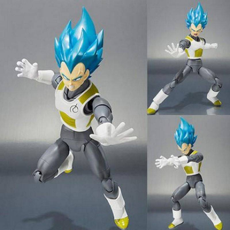 Vegeta Super Saiyan God SS S.H.Figuarts figurine articulée (Dragon Ball Z)