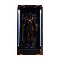 Neon Tech War Machine MMS Compact Series Hot Toys Hall of Armor (Iron Man 2)