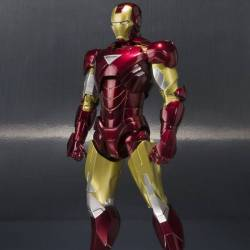 Iron Man Mark VI SH Figuarts Hall of Armor Set (Iron Man)