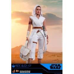 Rey et D-O Hot Toys MMS559 (Star Wars IX)
