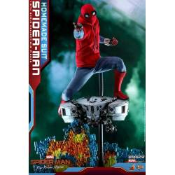 Spider-Man (Homemade Suit) Hot Toys MMS552 (Spider-Man Far From Home)