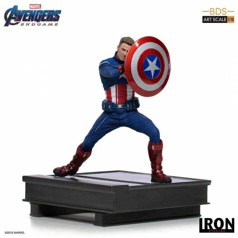 Captain America (2023) BDS Art Scale 1/10 Iron Studios (Avengers Endgame)