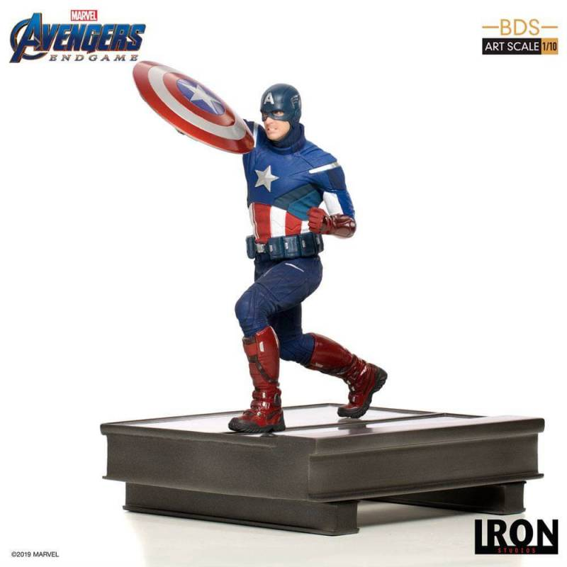 Captain America BDS Art Scale 1/10 Iron Studios (Avengers Endgame)