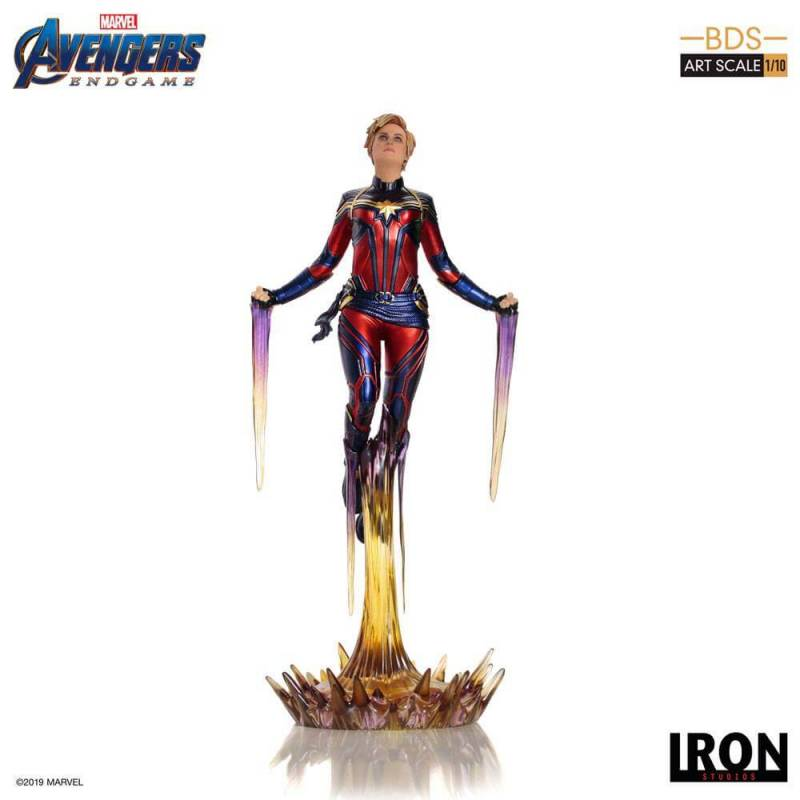Captain Marvel BDS Art Scale 1/10 Iron Studios (Avengers Endgame)