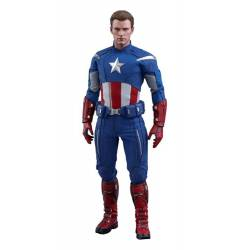 Captain America Hot Toys 2012 Version MMS563 figurine 30 cm (Avengers Endgame)