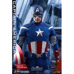 Captain America Hot Toys 2012 Version MMS563 figurine 30 cm (Avengers Endgame)