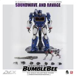 Soundwave et Ravage ThreeZero DLX (Transformers Bumblebee)