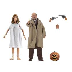 Doctor Loomis and Laurie Strode Neca Retro (Halloween 2)