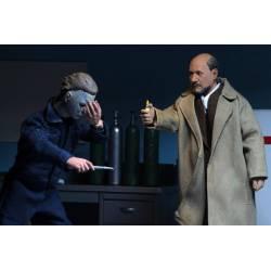 Doctor Loomis et Laurie Strode Neca Retro (Halloween 2)