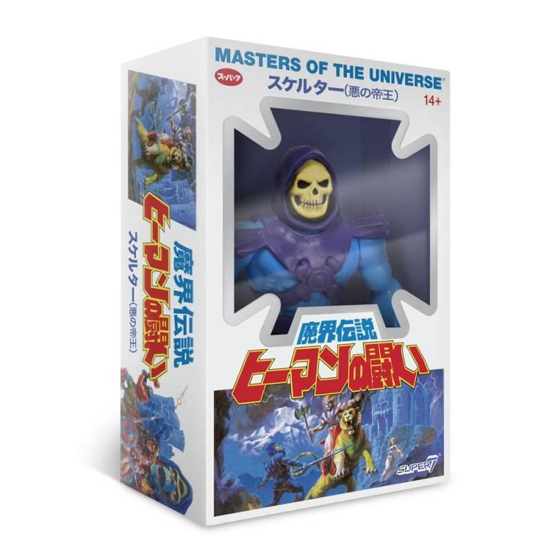 Skeletor Vintage Collection Japanese Box Super7 MOTU (Masters of the Universe)