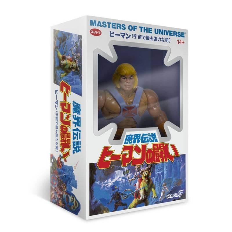 He-Man Musclor Vintage Collection Japanese Box Super7 MOTU (Les Maîtres de l'Univers)