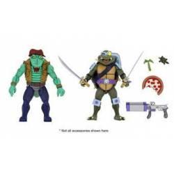 Head et Slash Neca (Les Tortues ninja)