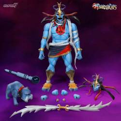 Mumm-Ra et Ma-Mutt Super7 Wave 2 Ultimates (Cosmocats)