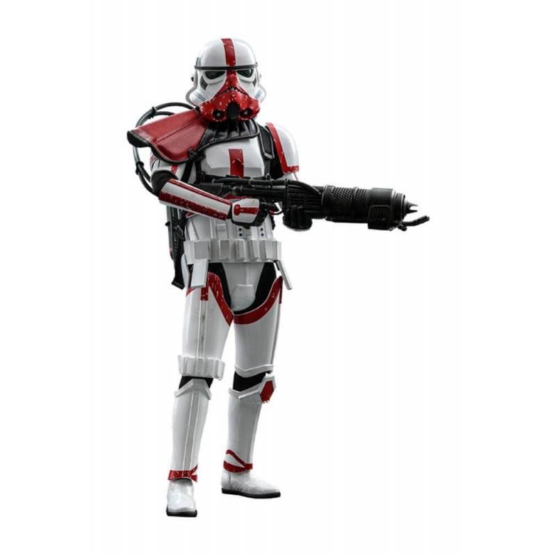 Incinerator Stormtrooper Hot Toys TMS012 (Star Wars The Mandalorian)
