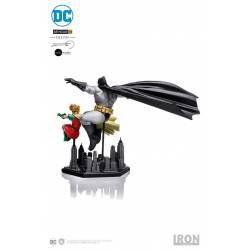 Batman et Robin figurines Art Scale 1/10 Iron Studios Deluxe (The Dark Knight Returns)