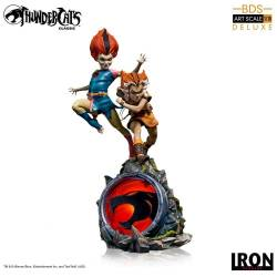 WilyKit and WilyKat BDS Art Scale 1/10 Iron Studios Deluxe (Thundercats)