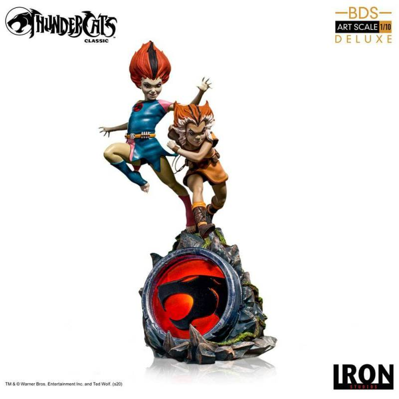WilyKit and WilyKat BDS Art Scale 1/10 Iron Studios Deluxe (Thundercats)