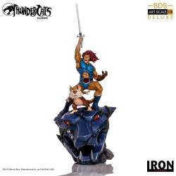 Lion-O and Snarf BDS Art Scale 1/10 Iron Studios Deluxe (Cosmocats)