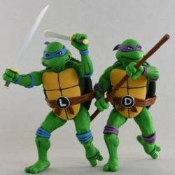 Leonardo and Donatello Neca (Teenage Mutant Ninja Turtles)