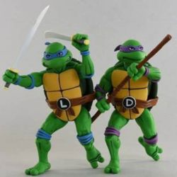 Leonardo et Donatello Neca (Tortues Ninja)