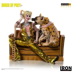Harley Quinn and Bruce Art Scale 1/10 Iron Studios Deluxe (Birds of Prey)