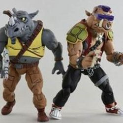 Rocksteady et Bebop Neca (Les Tortues ninja)