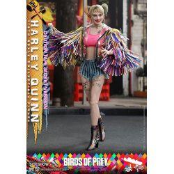 Harley Quinn Hot Toys MMS566 Caution Tape Jacket Version (Birds of Prey)