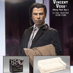 Vincent Vega 2.0 My Favorite Movie Pony Tail Deluxe Version (Pulp Fiction)
