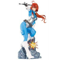Scarlett Bishoujo Kotobukiya 25th Anniversary Blue Color Ver (G.I. Joe)