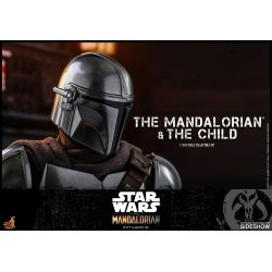 The Mandalorian and the Child Hot Toys TMS014 (Star Wars The Mandalorian)