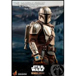 The Mandalorian and the Child Hot Toys TMS015 Deluxe (Star Wars The Mandalorian)