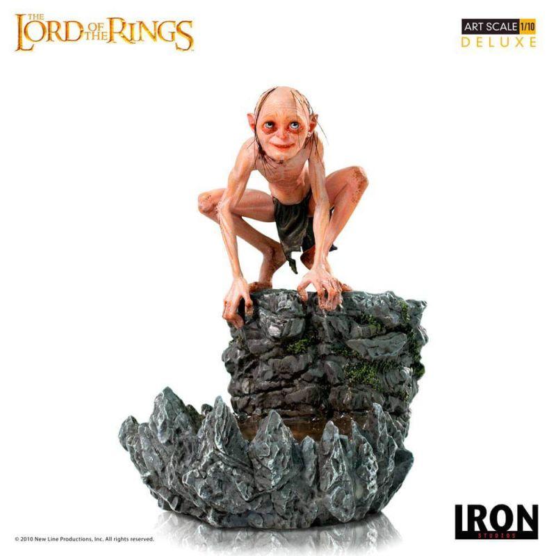 Gollum Art Scale 1/10 Iron Studios Deluxe (Le Seigneur des Anneaux)