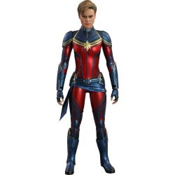 Captain Marvel Hot Toys MMS575 figurine 29 cm (Avengers Endgame)