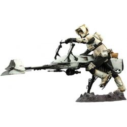 Scout Trooper et Speeder Bike Hot Toys TMS017 (Star Wars The Mandalorian)