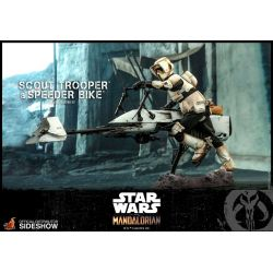 Scout Trooper and Speeder Bike Hot Toys TMS017 (Star Wars The Mandalorian)