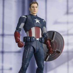 Captain America SH Figuarts Bandai (Avengers End Game)